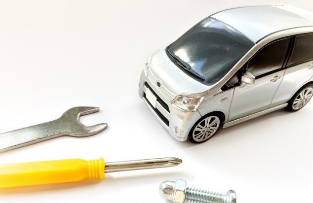 車と修理に使う工具