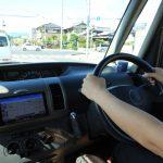 車の運転中