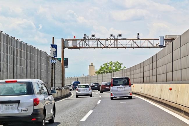 高速道路のオービス
