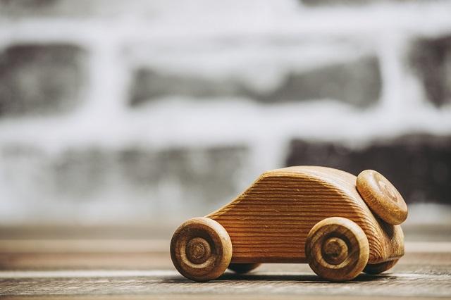 木製のトイカー